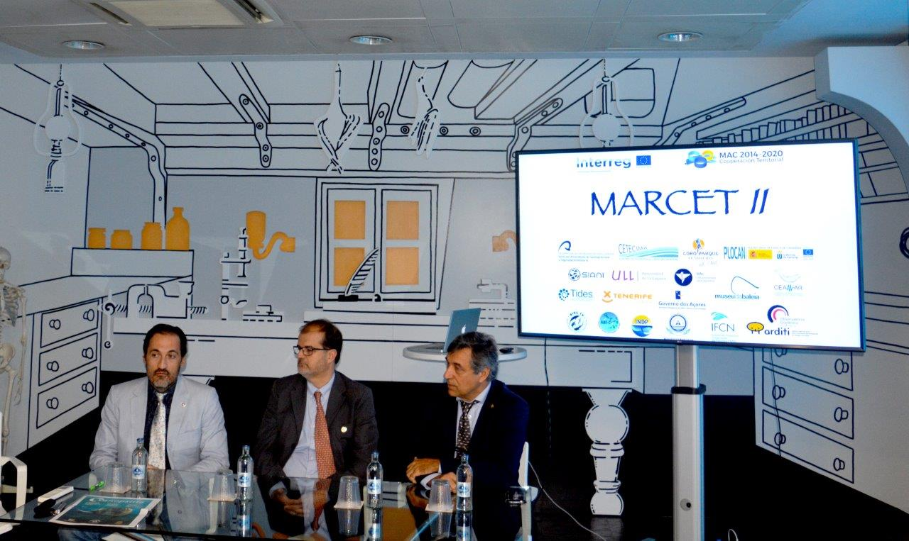 The preservation of cetaceans and the sustainable development of the Macaronesian Atlantic Area, are the main objectives of the MARCET II project