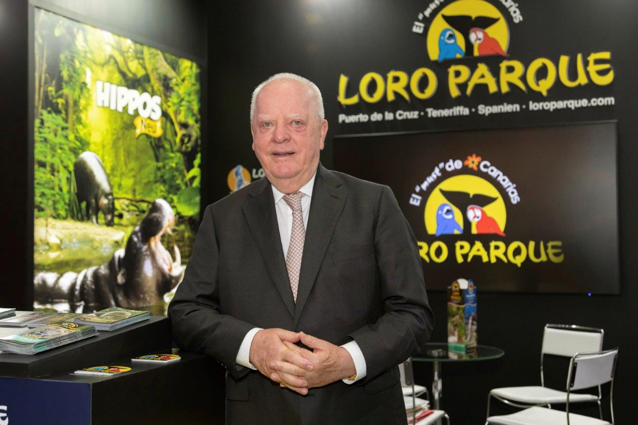 """Wolfgang Kiessling: """"We have saved 9 species of parrots that, without our help, would no longer exist and we are very proud"""""""